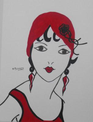 Deco Girl 1
